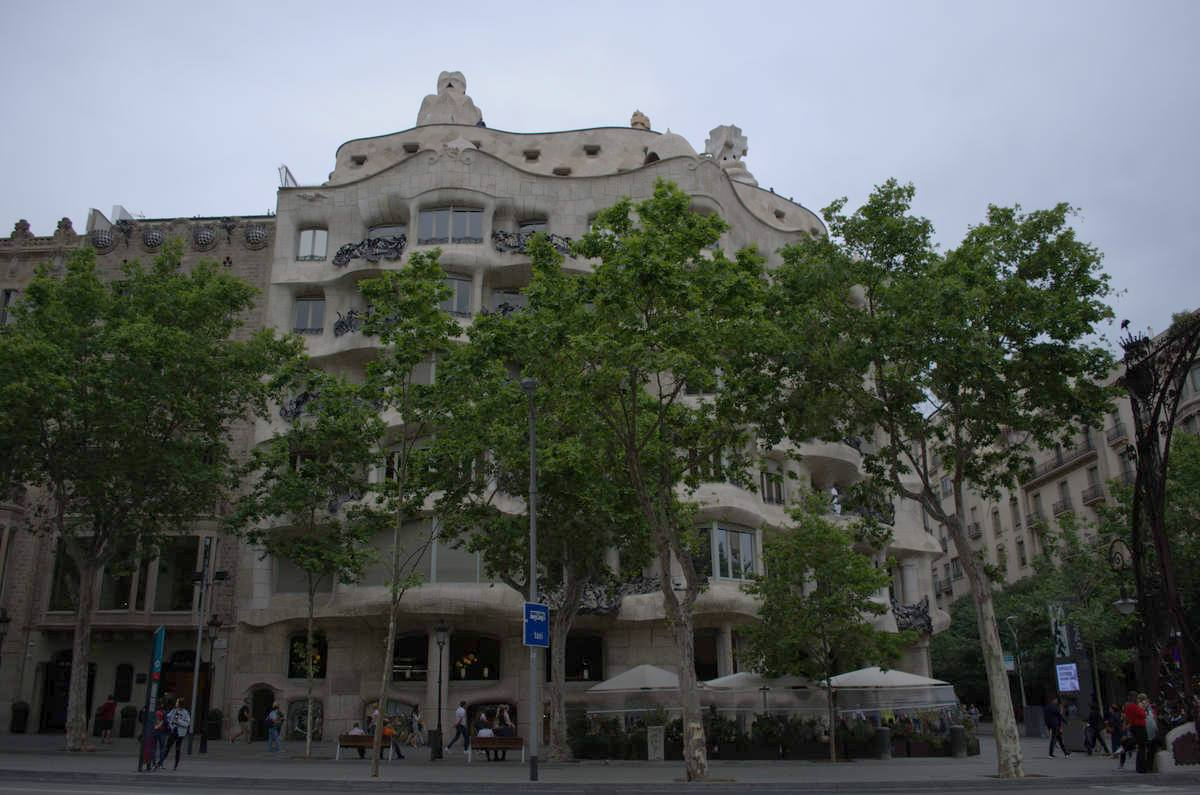 Дом Мила (Ла Педрера) | 1
