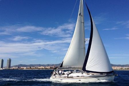 Морские прогулки на яхте в Барселоне | 1