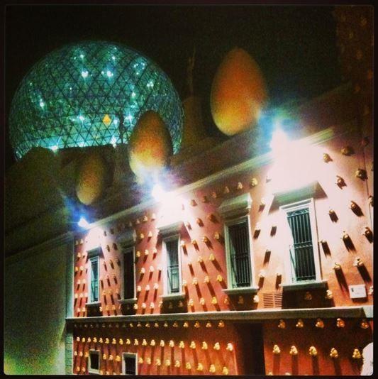 Ночной музей Дали