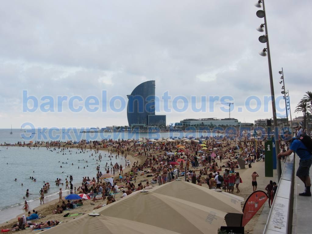 Пляж Барселонетта